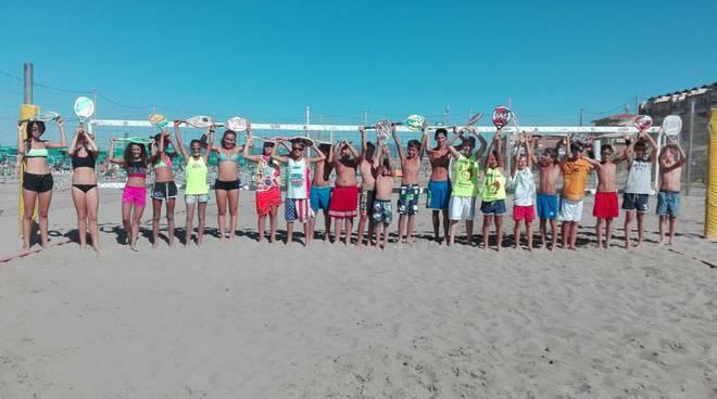 beach tennis under 13