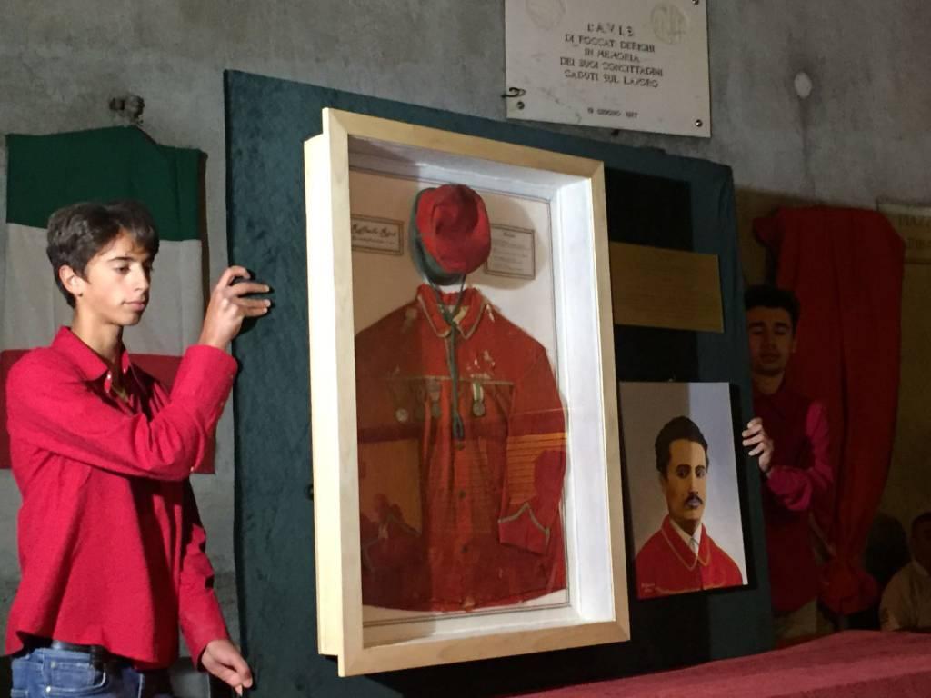 Camicia Rossa a Raffaello Ricci