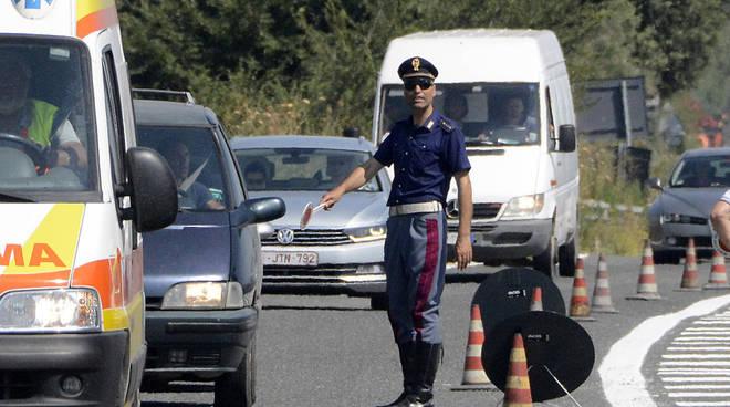 controlli di polizia stradale
