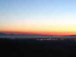 Golfo al tramonto