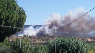 incendio Pian di Rocca