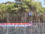 Stadio Malservisi 2016 striscioni