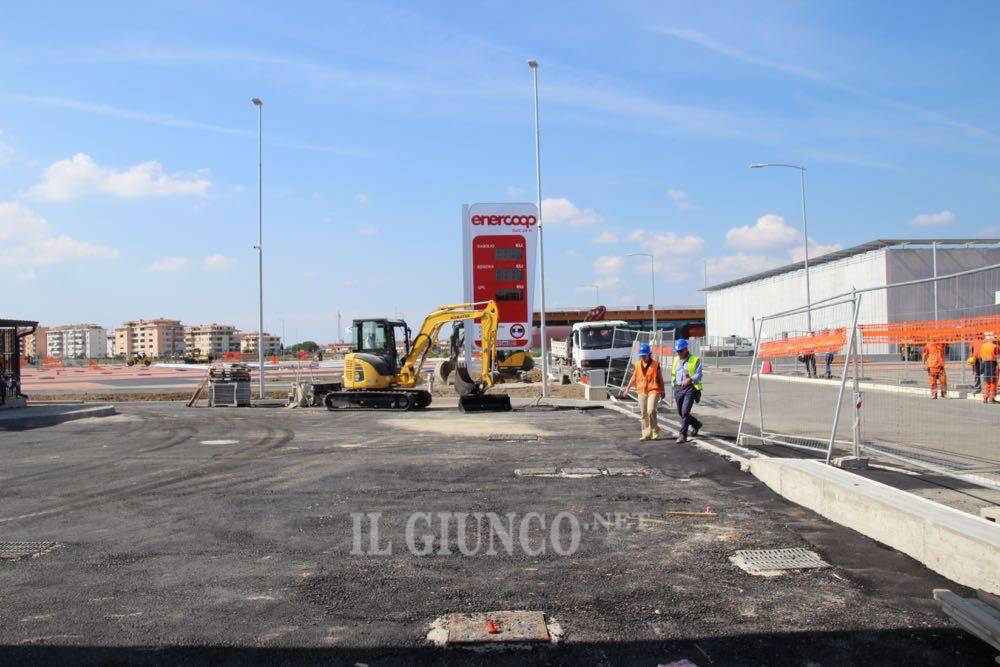 Centro Commerciale Maremà - ultimo cantiere