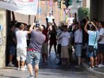 Contestazione Tifosi Biancorossi settembre2016