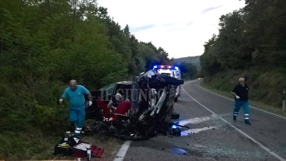 Incidente mortale Pitigliano 2016