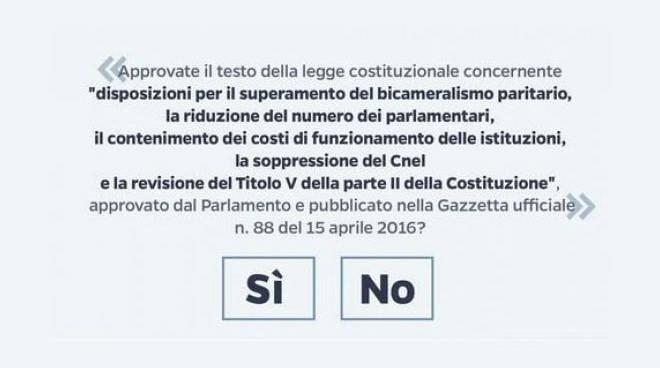Referendum scheda
