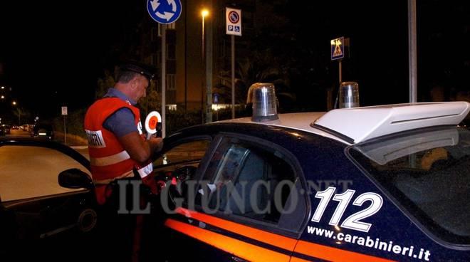 Una notte con i carabinieri