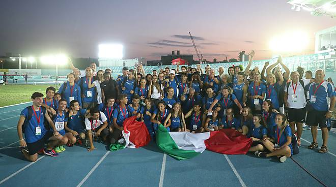 Atletica raduno Under 18 Tbilisi