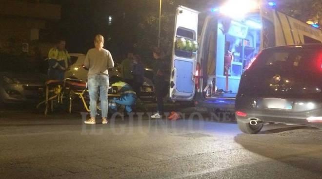 Incidente auto contro bici ottobre 2016