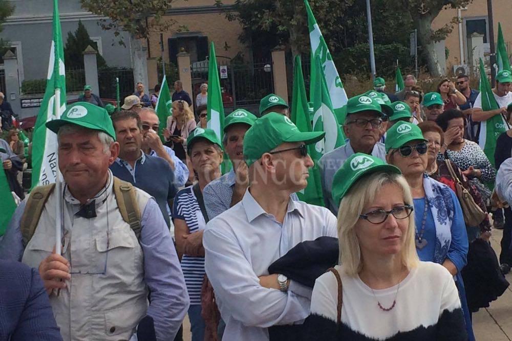Manifestazione Cia agricoltori pensionati