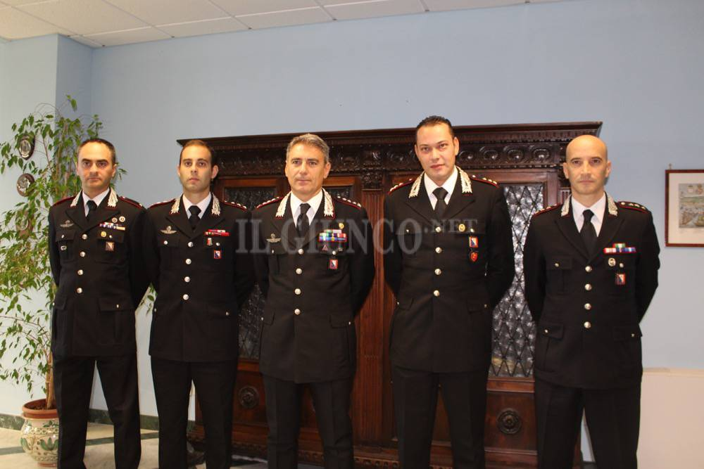 nuovi comandanti cc