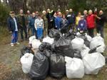 pulizia duna volontari pro loco