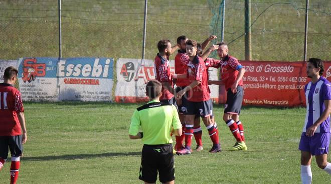 Roselle festa gol Coppa