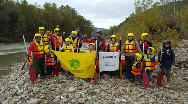 Soft Rafting Sasso d'Ombrone 2016