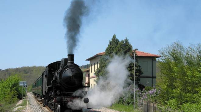 Treno natura vapore trenonatura