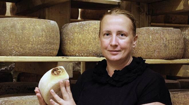Angela Fiorini caseificio il Fiorino formaggio