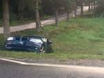 auto in fossa incidente