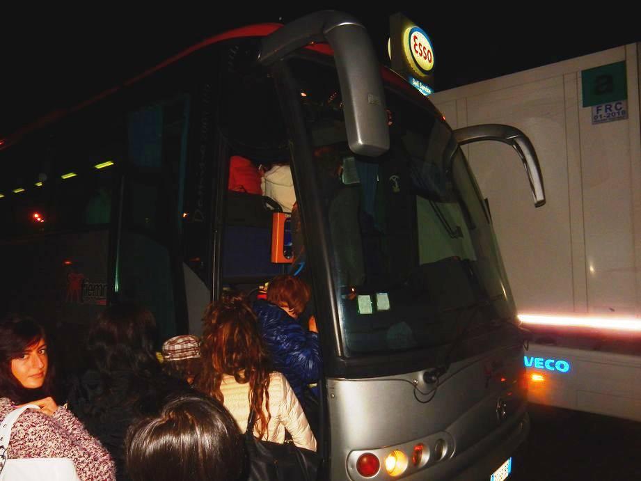 Autobus Tiemme guasto