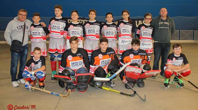 cp grosseto pattinatori under 15 2017