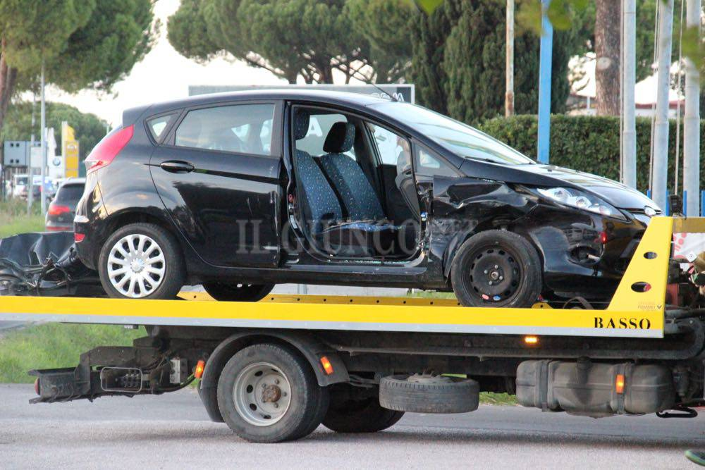 Incidente via Aurelia Nord  novembre 2016