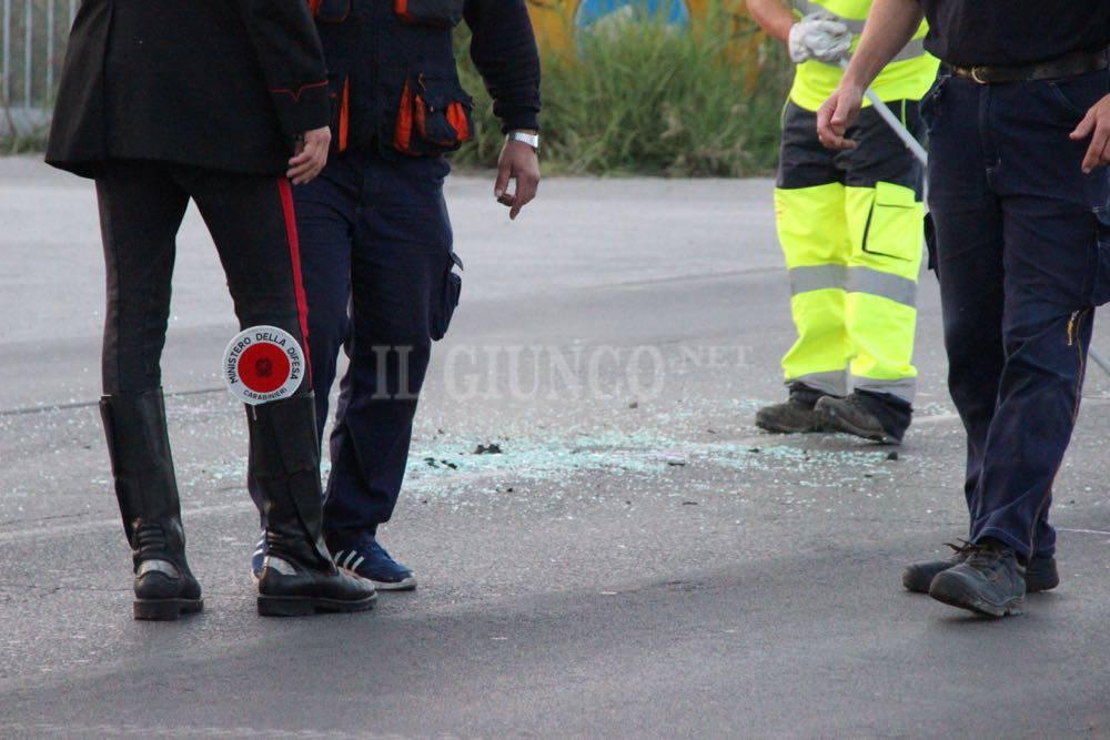 Incidente via Aurelia Nord  novembre 2016