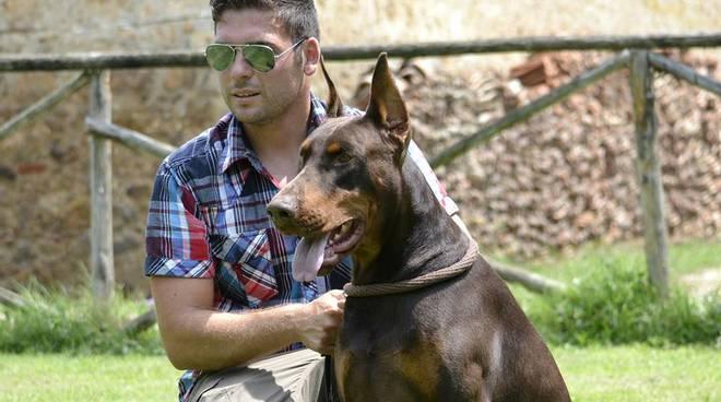 marco capecchi e il cane eschilo