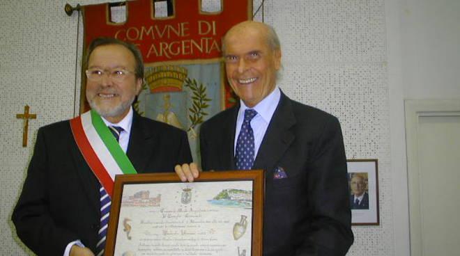 Umberto Veronesi con Arturo Cerulli
