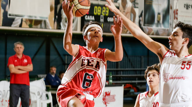 basket under 15 gea pallacanestro grosseto