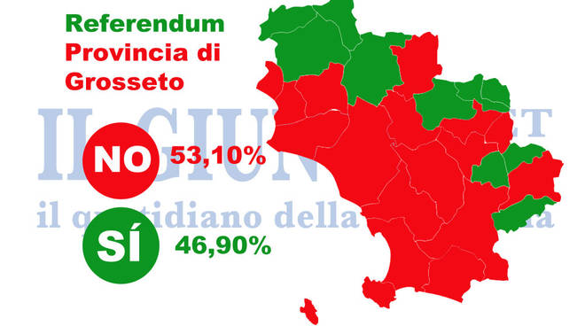 Mappa referendum