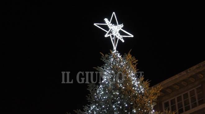 Natale albero centro storico Grosseto