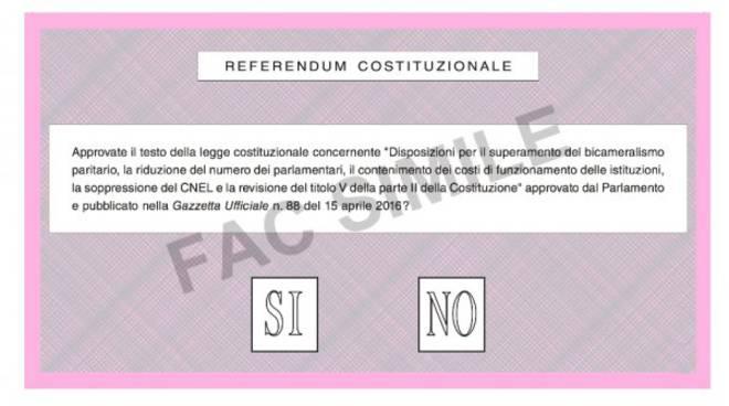 scheda fac simile referendum