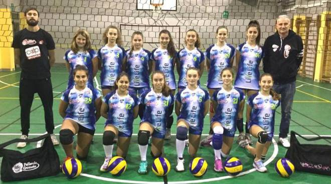 under 14 volley live life