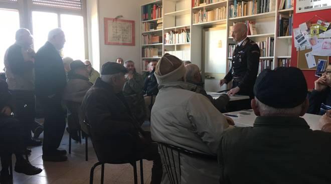 Cc incontro con anziani di Manciano