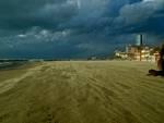 Follonica tormenta di sabbia