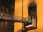 Incendio Garibaldi gennaio 2016