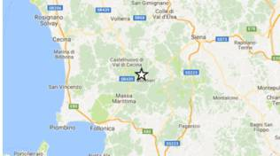 terremoto Montieri 2017