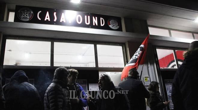 CasaPound inaugurazione
