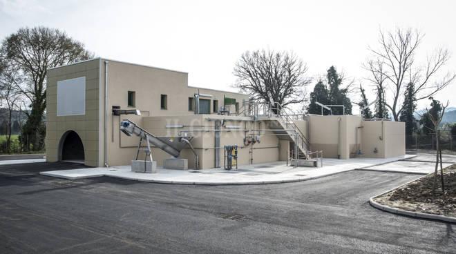 Nuovo impianto di depurazione per reflui e fanghi
