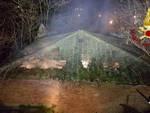 Incendio ex Ilva febbraio 2017