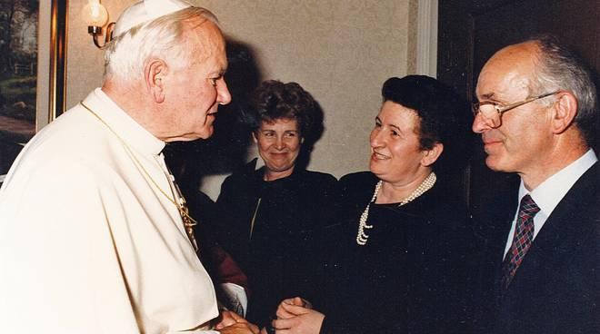 Bianchi e Giovanni Paolo II