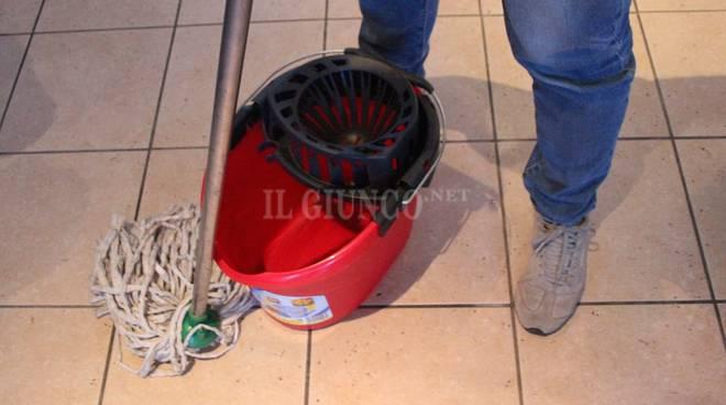 pulizie lavoro