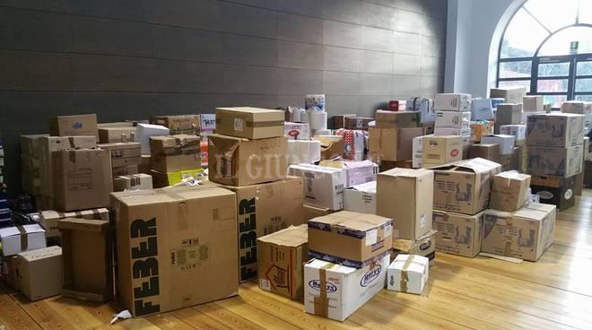 scatoloni per Amatrice