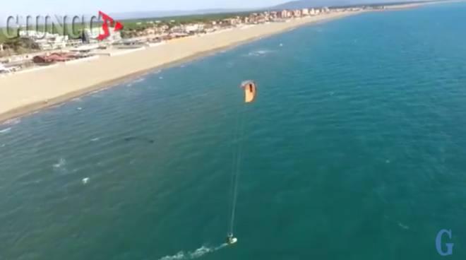 Video drone Kite