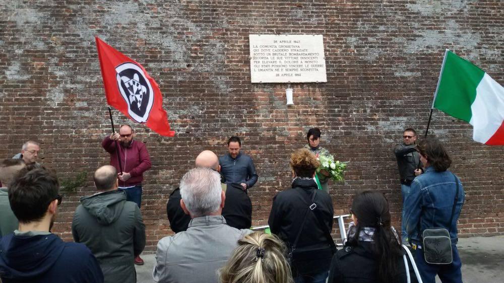CasaPound commemorazione 2017