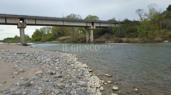 fiume ombrone a campagnatico