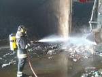 Incendio Strillaie aprile 2017