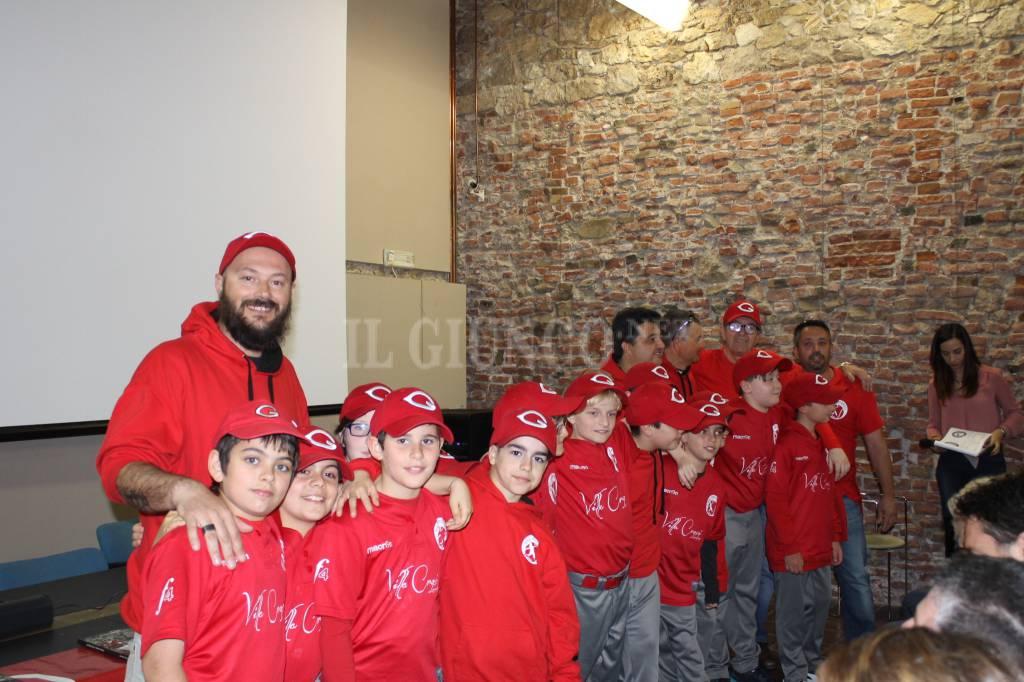 La carica degli 80 baby giocatori della BSC Grosseto