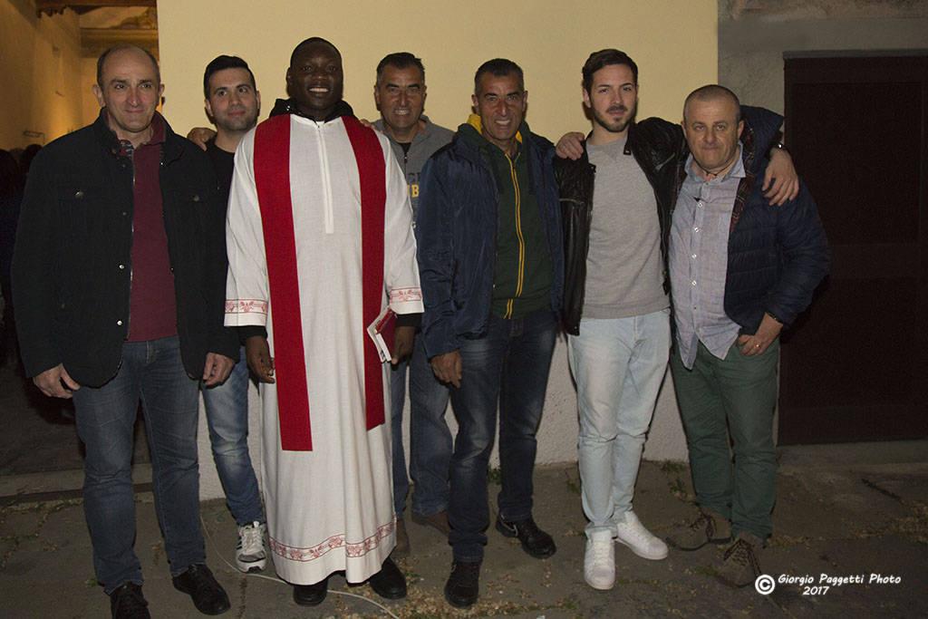 Processione Pasqua a Tatti 15 aprile 2017