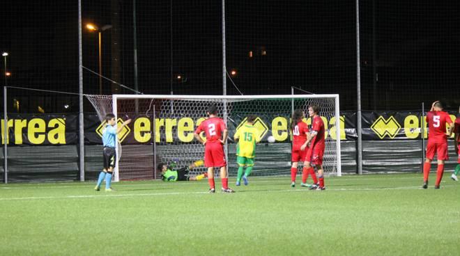 Gol rigore Juniores Gavorrano vs Castiglionese