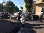 incidente alla rotonda